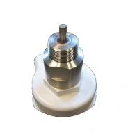 "BinMaster - BinMaster 1 1/2"" NPT Stainless Steel Process Connection & Seal/Bearing Carrier"