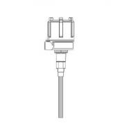 "BinMaster Capacitance Probe Assemblies - BinMaster Miscellaneous Probes - BinMaster - BinMaster 10.19"" Bare Stainless Steel Probe"