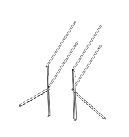 "Greene Access Parts - Greene Roof Ladder Handrail - Greene - Greene 5'4"" Roof Ladder Handrail Single Section"