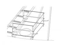 Greene Galvanized Stairs - Greene Roof Stairs - Greene - Greene Manhole Guardrail