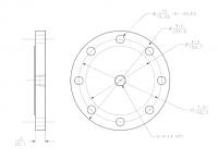 "BinMaster 4"" Carbon Steel Flange"