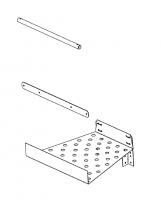 Greene Galvanized Stairs - Greene Easy Step Sidewall Stairs - Greene - Greene Easy Step Platform Filler