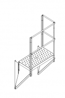 Greene Access Parts - Greene Sidewall Stairs - Greene - Greene Ladder Platform