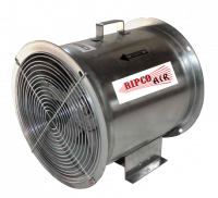 "Fans Less Controls - 12"" Diameter Vane Axial Fans Less Controls - RIPCO Distribution - 12"" RIPCO Air Axial Fan - 1 HP 3PH 230/460V"