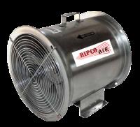 "Fans Less Controls - 14"" DiameterVane Axial Fans Less Controls - RIPCO Distribution - 14"" RIPCO Air Axial Fan - 1 HP 3PH 230/460V"
