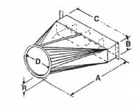 "RIPCO Distribution - RIPCO Distribution 24"" Axial Fan Transition - Image 2"