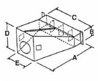 RIPCO Distribution - RIPCO Distribution U-1287 Universal Transition/Bin Collar - Image 2