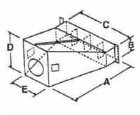 RIPCO Distribution - RIPCO Distribution U-3134 Universal Transition/Bin Collar - Image 2