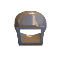 "RIPCO Distribution Hopper Tank Unload Accessories - RIPCO Distribution Discharge Transitions - RIPCO Distribution - RIPCO Distribution 16"" Round to 10"" Square Discharge Transition"