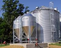 Shop by Capacity - Farm Hopper Tanks < 1,500 Bushels - Brock - 9' Brock Farm Hopper Tank