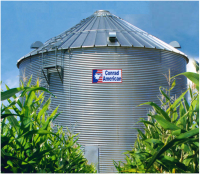 Shop by Size - 24' Farm Bins - Conrad American - 24' Conrad American Farm Grain Bins